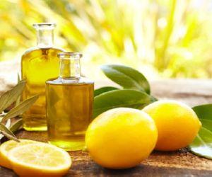 лимон и масло для локтей