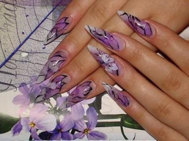 Фото ногти аквариум дизайн