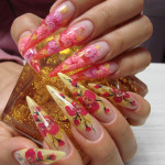 Аквариум на ногтях – долговечная красота