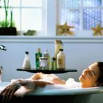 Жгучая ванна для стройности  вашего тела