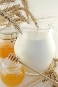 ванна с молоком и медом
