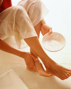 домашние скрабы для ног