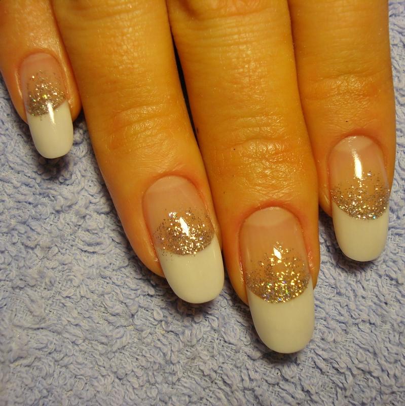 Дизайн ногтей фото блёстками
