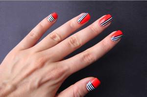 дизайн ногтей шеллаком самостоятельно
