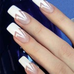 Дизайн ногтей френч: опознавательные черты