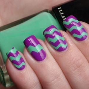геометрический дизайн ногтей в домашних условиях