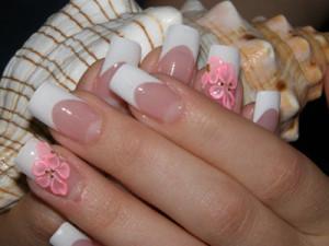 французский дизайн ногтей в домашних условиях