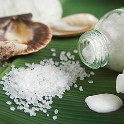 обертывание с морской солью