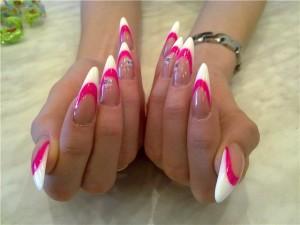 современный  красивый дизайн ногтей
