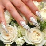 Лучший свадебный дизайн ногтей