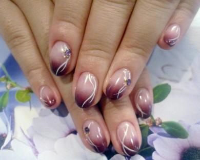 фото рисунки на короткие ногти