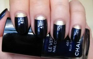 дизайн круглых ногтей