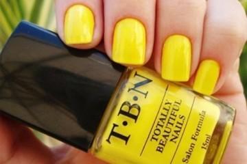 жёлтый лак