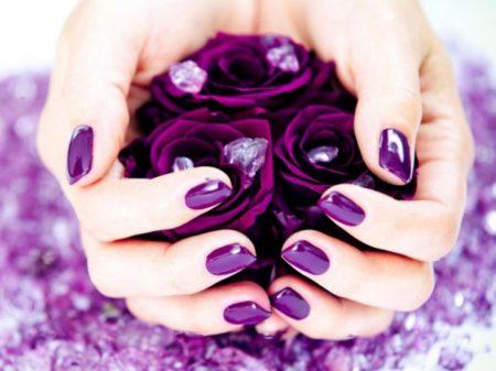 как покрыть ногти шеллаком