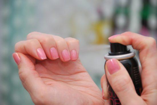 как высушить быстро ногти