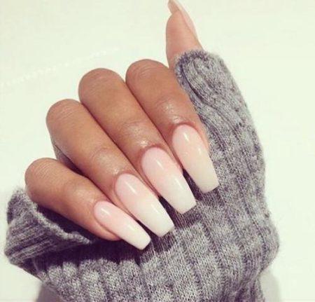 балерина ногти
