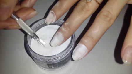акриловая пудра для ногтей