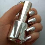 Драгоценный металл, как украшение ногтей