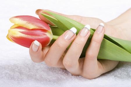 укрепление ногтей биогелем и акрилом