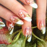красивый и модный дизайн ногтей