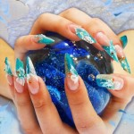 дизайн ногтей разной формы