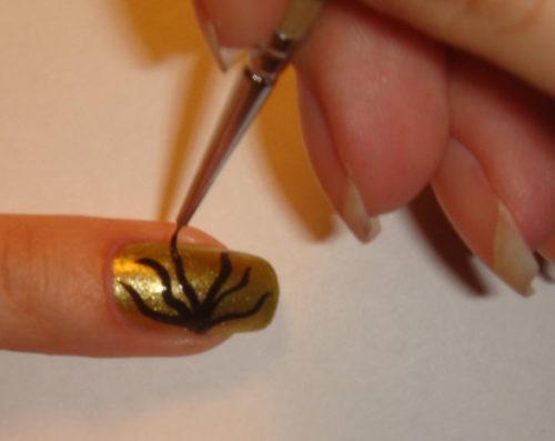 рисунки на ногтях гель лаком