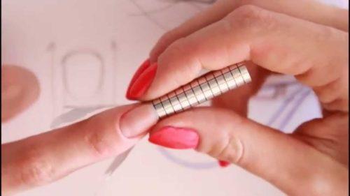 наращивание ногтей на формы
