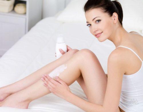 увлажнение тела молочком