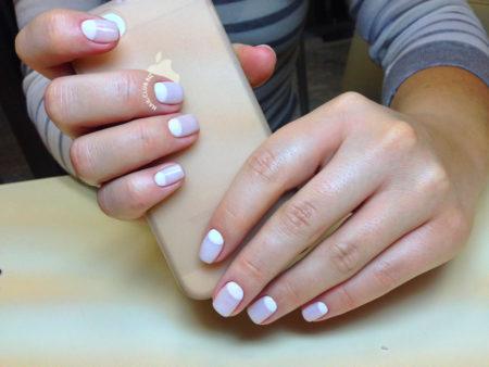 Шикарный маникюр на маленькие ногти