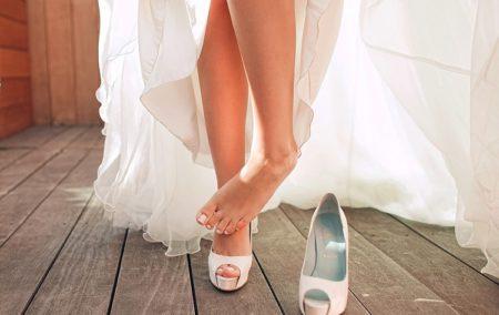 Свадебный педикюр: рекомендации по выбору много фото