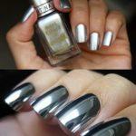 3 способа зеркального дизайна ногтей