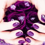 баклажанновые ногти