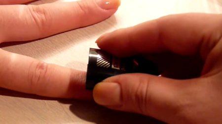 этапы магнитного маникюра
