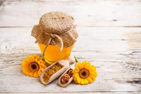 мед от пятен на коже
