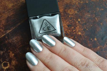 металлический лак для ногтей