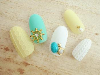 дизайн накладных ногтей