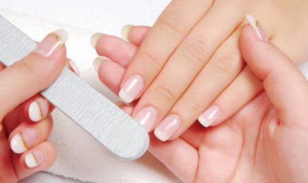 как подпиливать ногти правильно