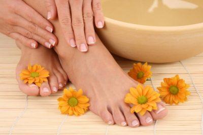 ванночки для ног от усталости